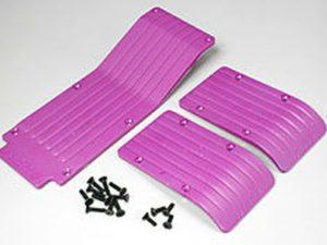 T/E-Maxx skid / wear plate set (PPL.)