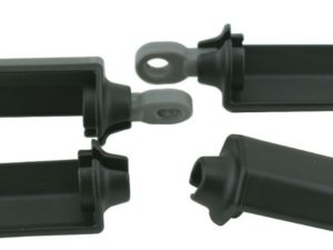 Shock-protection guards black