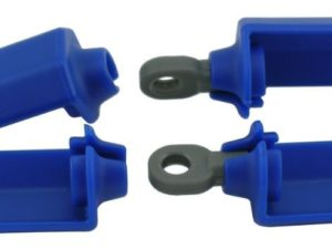 Blue shock-protection guards