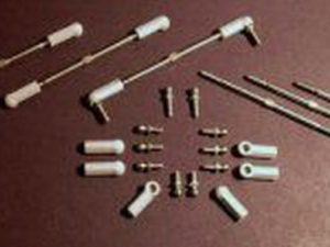 Super duty rod ends (12) grey