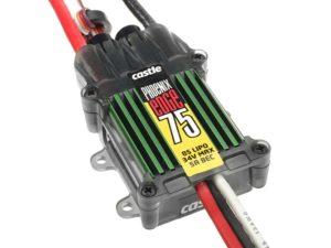 Castle - Phoenix Edge 75 - Hoog-vermogen Air-Heli Brushless regelaar Telemetrie mogelijkheid- 2-8S - 75A - 5A SBec