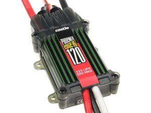 Castle - Phoenix Edge 120 HV - Hoog-vermogen Air-Heli High Voltage Brushless regelaar -  6-12S - 120A