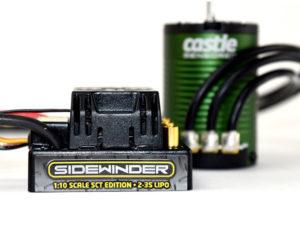 Castle - SIDEWINDER SCT  COMBO WITH 1410-3800KV 5MM MOTOR SENSORED