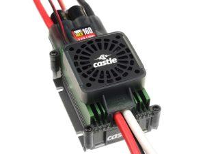 Castle - Phoenix Edge 160 HV-F - Hoog-vermogen Air-Heli High Voltage Brushless regelaar  - 6-12S - 160A
