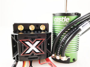 Castle - Mamba Monster X - Combo - 1-8 Extreem Car regelaar met 1515-2200 Sensored Motor