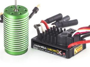 Castle - Mamba Micro X - Combo - 1-18 Extreem Car regelaar met 0808-8200 Sensorless motor