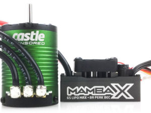 Castle Creations - MAMBA X, 25.2V WP ESC AND 1515-2200KV SENSORED E-BUGGY COMBO