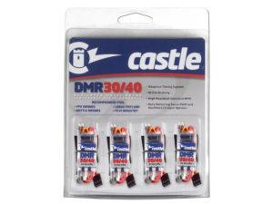 Castle - DMR 30/40 - Speciale Multi-Rotor regelaars - 2-6S - 40A - 4 Pak
