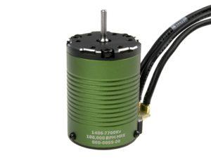 Castle - Brushless motor 1406 - 7700KV - 4-Polig - Sensored
