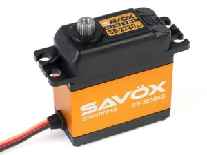 Savox - Servo - SB-2230SG - Digital - High Voltage - Brushless Motor - Staal tandwielens
