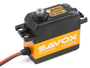 Savox - Servo - SB-2250SG - Digital - Brushless Motor - Staal tandwielens