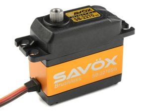 Savox - Servo - SB-2270SG - Digital - High Voltage - Brushless Motor - Staal tandwielens