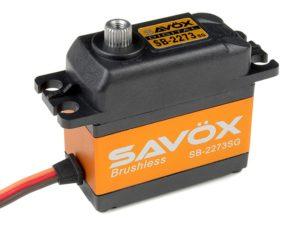 Savox - Servo - SB-2273SG - Digital - High Voltage - Brushless Motor - Staal tandwielen
