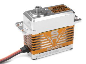 Savox - Servo - SB-2284SG - Digital - High Voltage - Brushless Motor - Staal tandwielen
