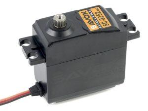 Savox - Servo - SC-0252MG - Digital - DC Motor - Metaal tandwielen