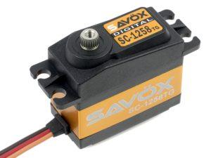 Savox - Servo - SC-1258TG - Digital - Coreless Motor - Titanium tandwielen