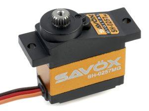 Savox - Servo - SH-0257MG - Digital - DC Motor - Metaal tandwielen