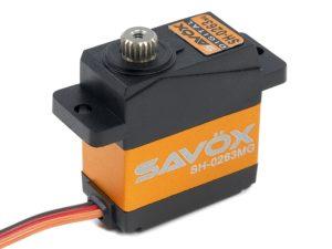 Savox - Servo - SH-0263MG - Digital - DC Motor - Metaal tandwielen