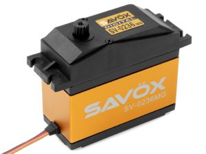 Savox - Servo - SV-0236MG - Digital - High Voltage - DC Motor - Metaal tandwielen