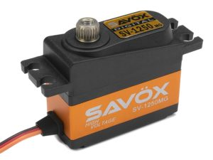 Savox - Servo - SV-1250MG - Digital - High Voltage - Coreless Motor - Metaal tandwielen