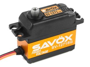 Savox - Servo - SV-1271SG - Digital - High Voltage - Coreless Motor - Staal tandwielen