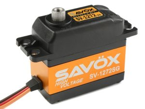 Savox - Servo - SV-1272SG - Digital - High Voltage - Coreless Motor - Staal tandwielen