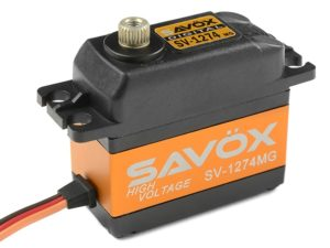 Savox - Servo - SV-1274MG - Digital - High Voltage - Coreless Motor - Metaal tandwielen