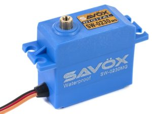 Savox - Servo - SW-0230MG - Digital - High Voltage - DC Motor - Waterproof - Metaal tandwielen