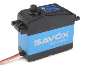 Savox - Servo - SW-0240MG - Digital - High Voltage - DC Motor - Waterproof - Metaal tandwielen