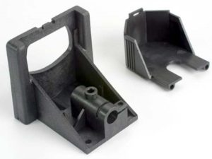 Motor mounting bracket/ gear cover (1) (improved design: old