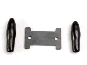 Antenna caps, vinyl (2)/ antenna spool