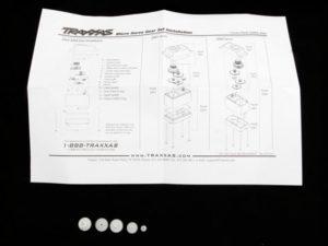 Gear set (for 2065 waterproof sub-micro servo)