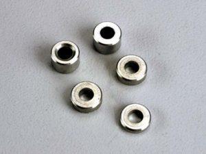 Aluminum spacers: 3x6x1.5mm (2)/ 3x6x2.5mm (1)/ 3x6x3.8mm (2