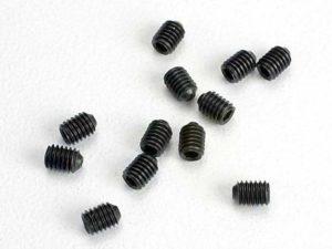 Set (grub) screws, 3mm hardened (12)