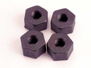 5mm nylon wheel nuts (4)