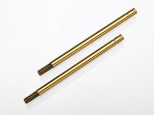 Shock shafts, hardened steel, titanium nitride coated (X-lon