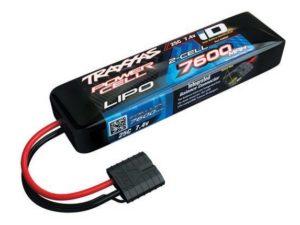 Power Cell LiPo 7600mAh 7.4V 2S 25C , Summit, E-Revo Slas ID