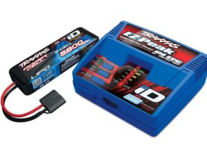 Traxxas 2S (1X 2843X 7.4V LiPO& 1X 2970G ID charger