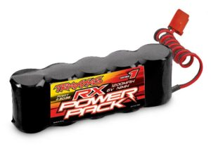 Battery, RX Power Pack (5-cell flat style, GP cells, NiMH, 1