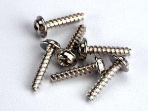 Screws, 3x14mm washerhead self-tapping (6)