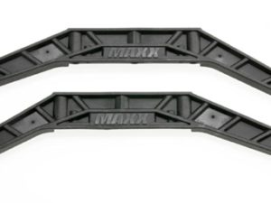 Chassis braces, lower (black) (2)