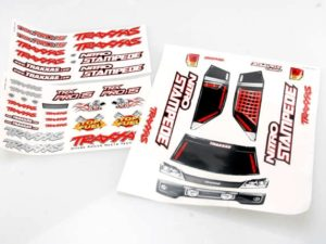 Decal sheets, Nitro Stampede