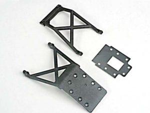Skid plates (f&r)/ fiberglass transmission spacer plate