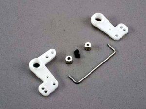 Bellcranks (l&r)/ 1.5mm wire draglink/ 1.5mm set screw coll