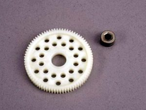 Spur gear (78-tooth) (48-pitch) w/bushing