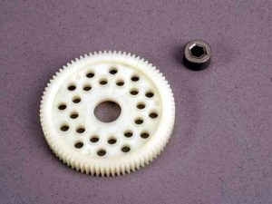 Spur gear (81-tooth) (48-pitch) w/bushing
