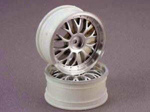 Wheels, satin finish, mesh (2.0)(designed to fit 1.9 tires)(