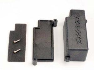 Box, battery/ adhesive foam chassis pad