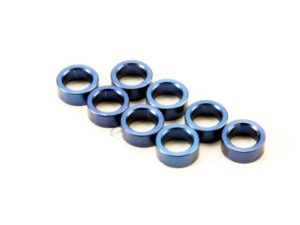 Spacer, pushrod (aluminum, blue) (use with 5318 or 5318X pus