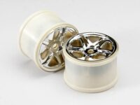 Wheels, SS (split spoke) 3.8 (chrome) (2) (use with 17mm spl